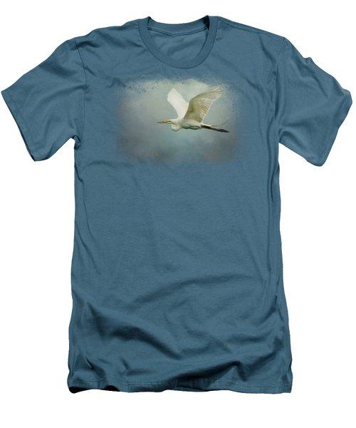 Sea Flight Men's T-Shirt (Athletic Fit)