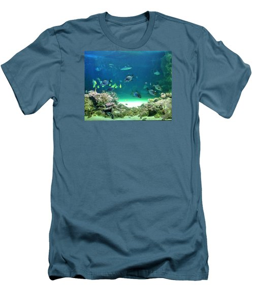 Sea Life Men's T-Shirt (Athletic Fit)