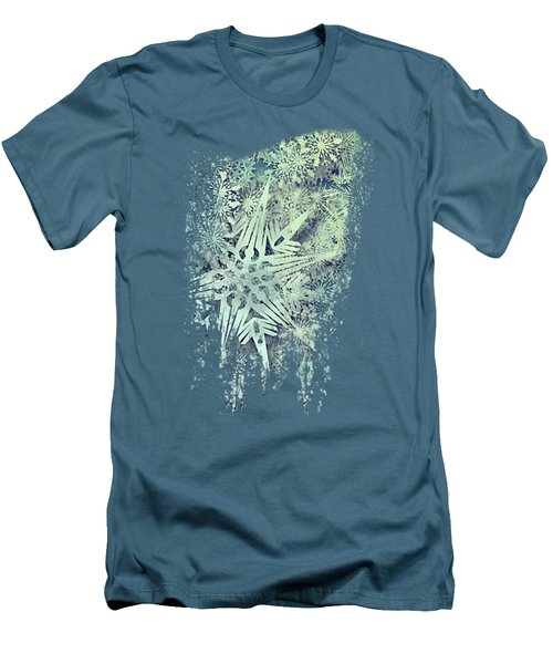 Sea Of Flakes Men's T-Shirt (Athletic Fit)