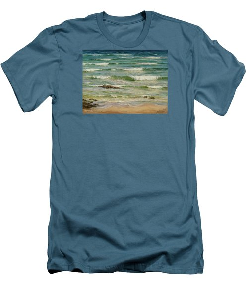 Sea Symphony. Part 1. Men's T-Shirt (Athletic Fit)