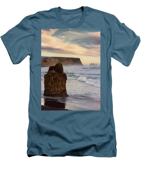 Sea Stack II Men's T-Shirt (Slim Fit) by Allen Biedrzycki