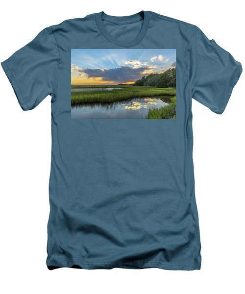 Seabrook Island Sunrays Men's T-Shirt (Athletic Fit)