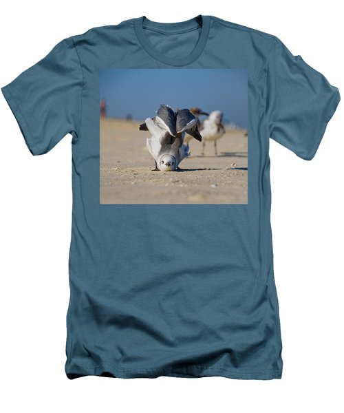 Seagull Yoga Men's T-Shirt (Athletic Fit)