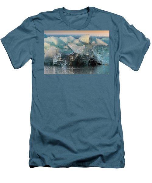 Men's T-Shirt (Slim Fit) featuring the photograph Seal Nature Sculpture by Allen Biedrzycki