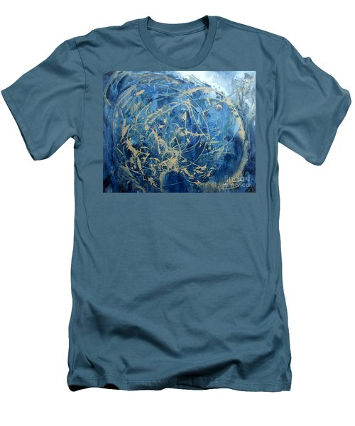 Searching Men's T-Shirt (Slim Fit) by Valerie Travers