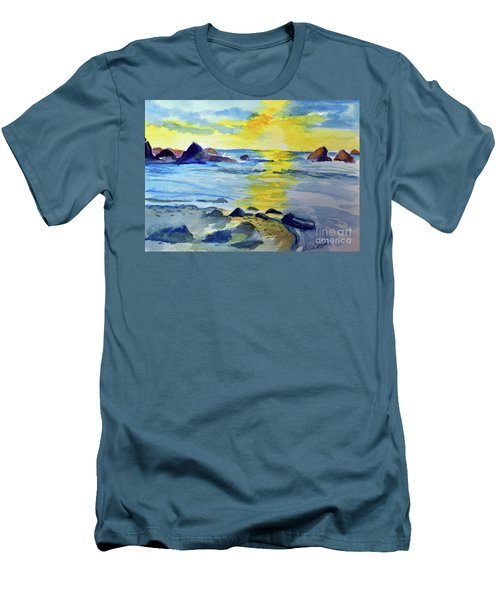 Seashore Men's T-Shirt (Athletic Fit)