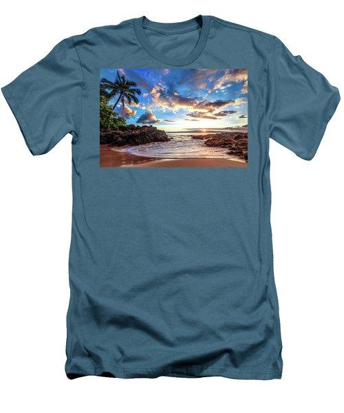 Secret Beach Men's T-Shirt (Athletic Fit)