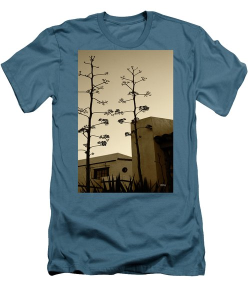 Sedona Series - Desert City Men's T-Shirt (Slim Fit) by Ben and Raisa Gertsberg