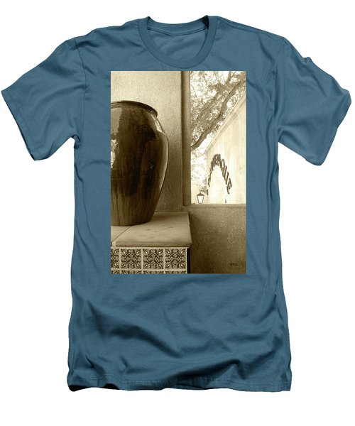 Sedona Series - Jug And Window Men's T-Shirt (Slim Fit) by Ben and Raisa Gertsberg