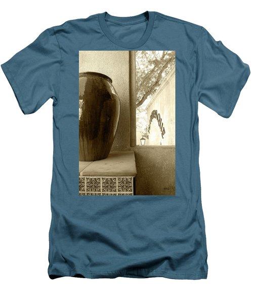 Men's T-Shirt (Slim Fit) featuring the photograph Sedona Series - Jug And Window by Ben and Raisa Gertsberg