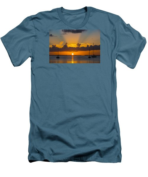 See The Light Men's T-Shirt (Slim Fit) by Kevin Cable