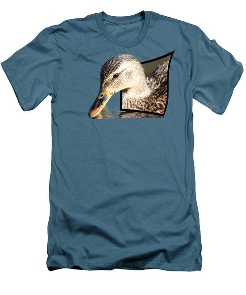 Seeking Water Men's T-Shirt (Athletic Fit)