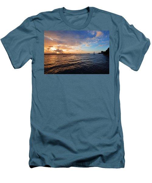 Men's T-Shirt (Slim Fit) featuring the photograph Semblance 3769 by Ricardo J Ruiz de Porras