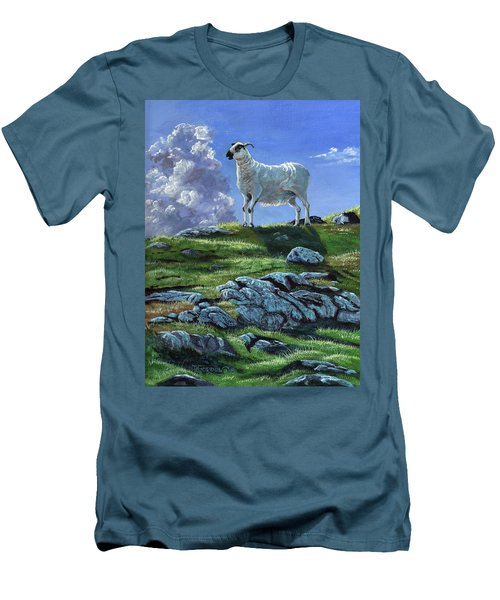 Sentinal Of The Highlands Men's T-Shirt (Athletic Fit)