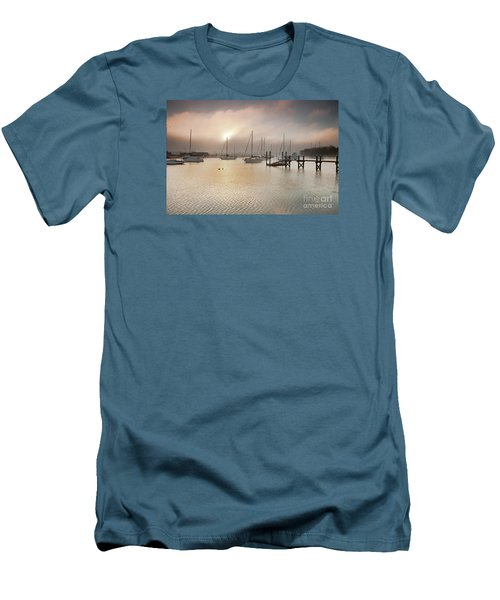 September Fog Men's T-Shirt (Slim Fit) by Butch Lombardi