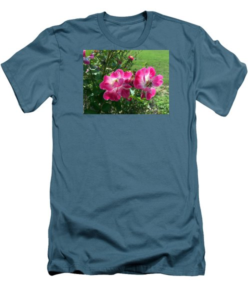 September Rose Men's T-Shirt (Athletic Fit)