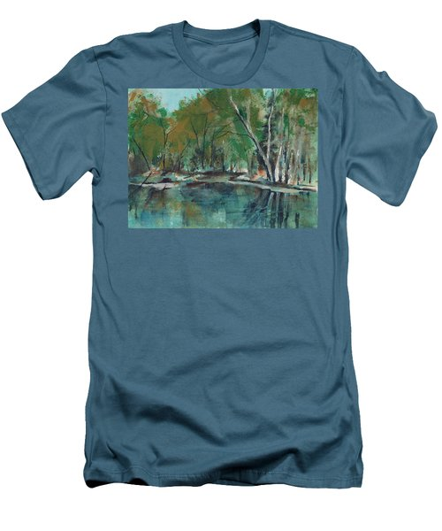 Serene Men's T-Shirt (Slim Fit) by Lee Beuther