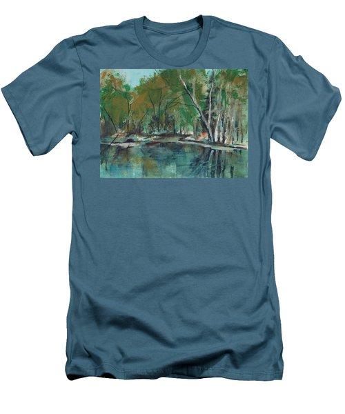 Serene Men's T-Shirt (Athletic Fit)