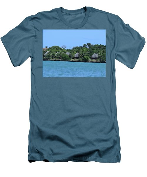 Serenity - Chale Island Kenya Africa Men's T-Shirt (Athletic Fit)