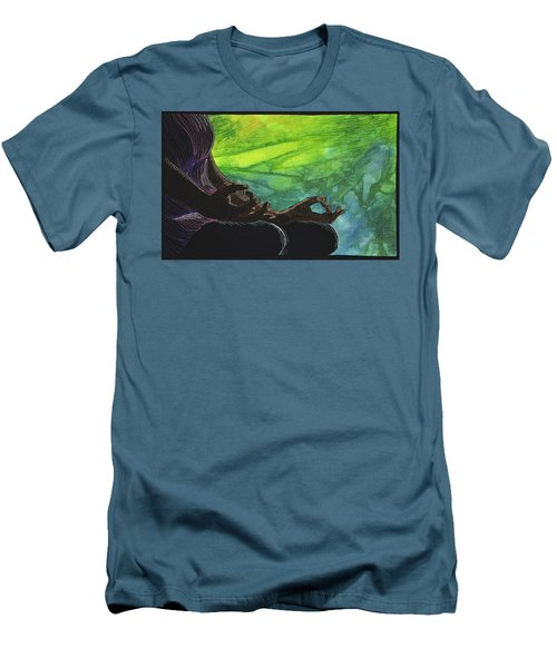 Serenity Men's T-Shirt (Slim Fit) by Jo Baner