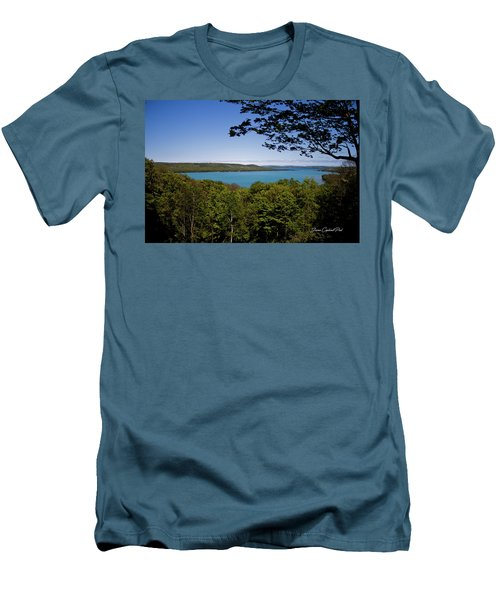 Men's T-Shirt (Slim Fit) featuring the photograph Serenity by Joann Copeland-Paul
