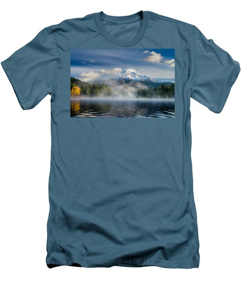 Shasta Mists And Morning 2 Men's T-Shirt (Athletic Fit)
