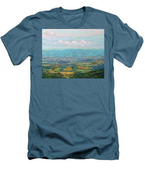 Shenandoah Blue Men's T-Shirt (Athletic Fit)