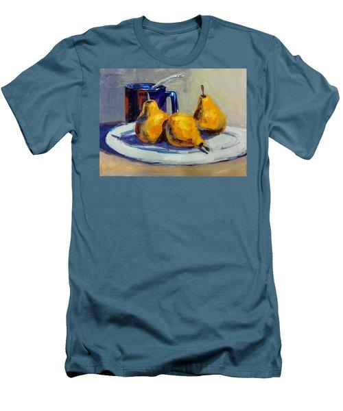 Shiney Blue Mug Men's T-Shirt (Athletic Fit)