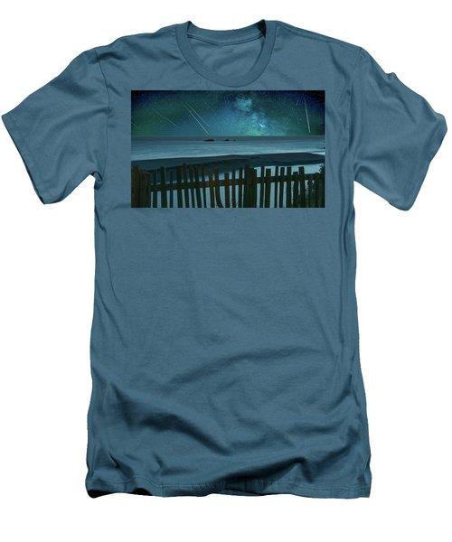 Shooting Stars Men's T-Shirt (Athletic Fit)