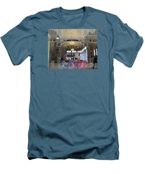 Shop Window  Men's T-Shirt (Slim Fit) by Anna Yurasovsky