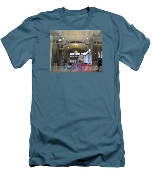 Shop Window  Men's T-Shirt (Athletic Fit)