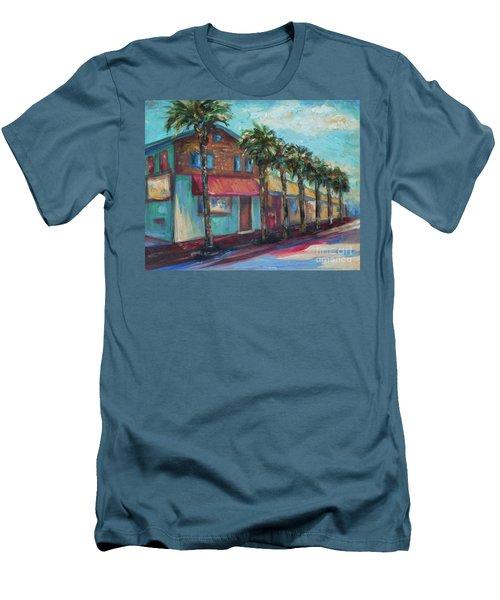 Shorelines And Pete's Men's T-Shirt (Athletic Fit)