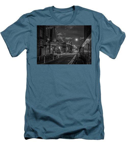 Shortcut Men's T-Shirt (Slim Fit) by Jeffrey Friedkin