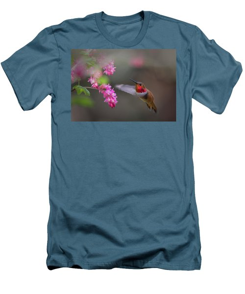 Sign Of Spring Men's T-Shirt (Slim Fit) by Randy Hall