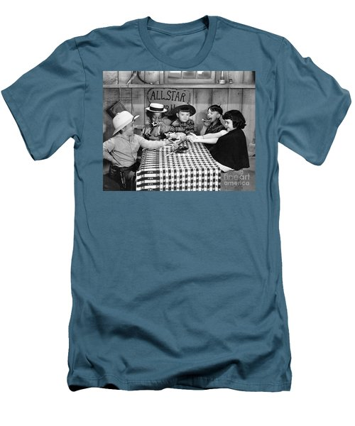 Silent Film: Little Rascals Men's T-Shirt (Athletic Fit)