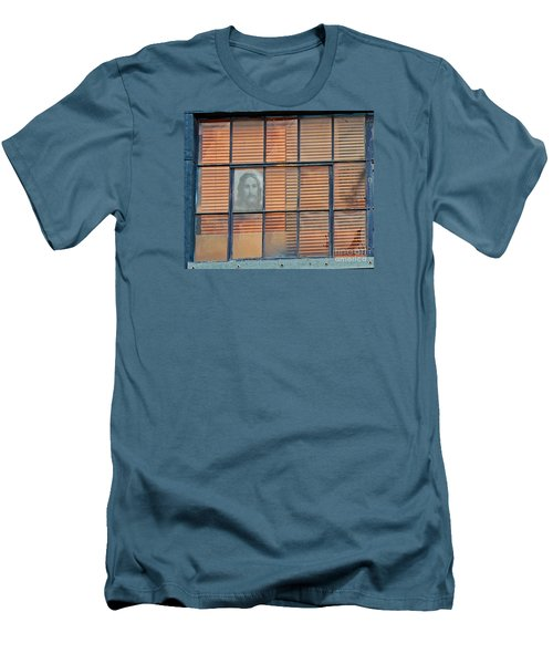 Silently Calling Men's T-Shirt (Slim Fit) by Joe Jake Pratt