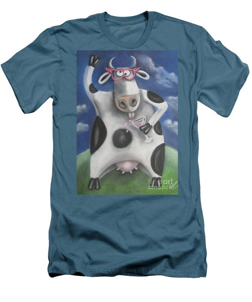 Silly Cow Men's T-Shirt (Athletic Fit)