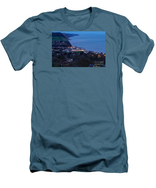 Simouth From A High. Men's T-Shirt (Slim Fit) by Gary Bridger