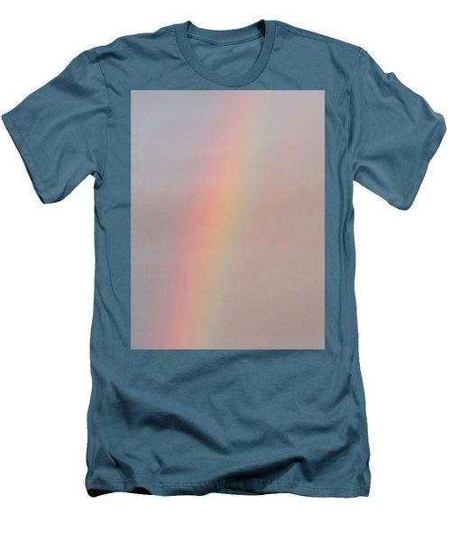 Simple Desert Rainbow Men's T-Shirt (Athletic Fit)