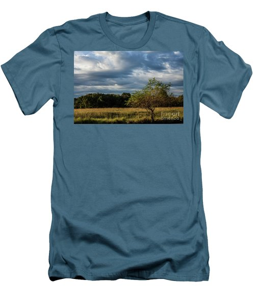 Men's T-Shirt (Slim Fit) featuring the photograph Simplicity by Iris Greenwell