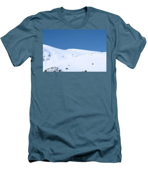 Men's T-Shirt (Slim Fit) featuring the photograph Simply Winter by Juli Scalzi
