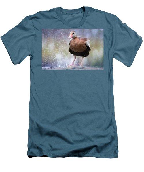 Singing In The Rain Men's T-Shirt (Athletic Fit)