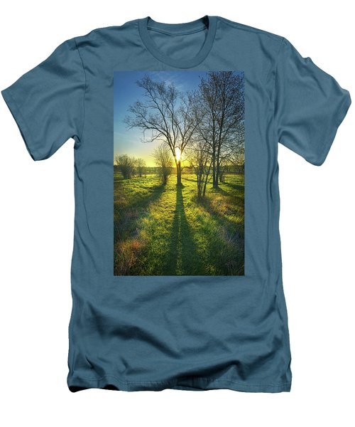 Men's T-Shirt (Slim Fit) featuring the photograph Single Moments by Phil Koch