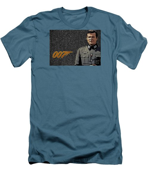 Sir Roger Moore Men's T-Shirt (Athletic Fit)
