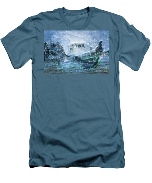 Siren Ship Men's T-Shirt (Athletic Fit)