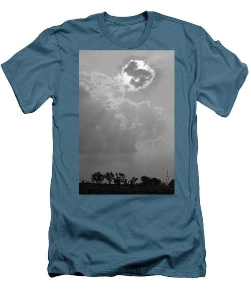 Skn 2170 Blessings Showered Men's T-Shirt (Athletic Fit)
