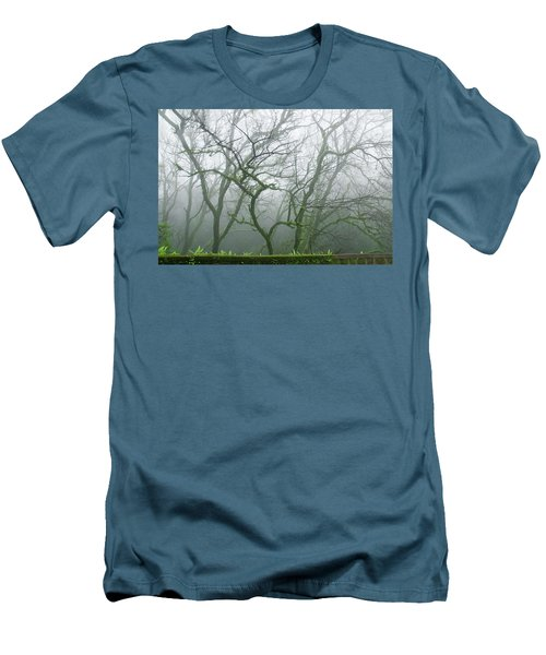 Skn 3720 Monsoon Landscape Men's T-Shirt (Athletic Fit)