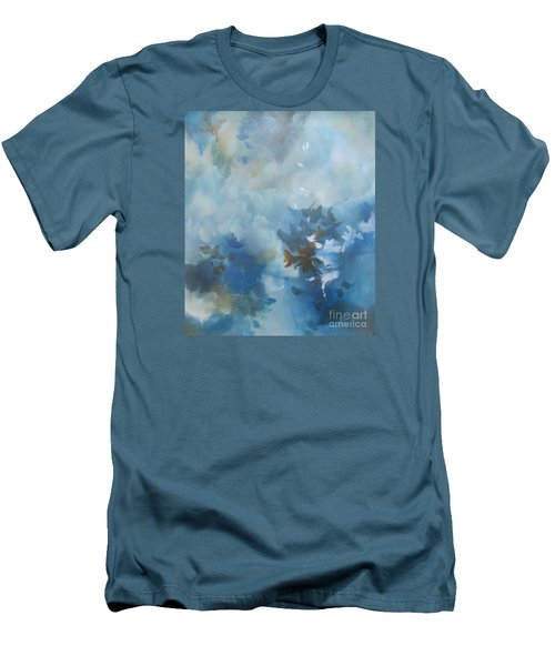 Sky Fall I Men's T-Shirt (Slim Fit) by Elis Cooke
