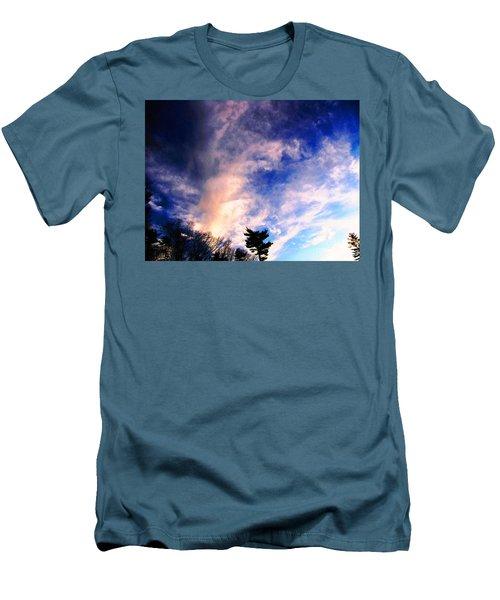Sky Study 5 3/11/16 Men's T-Shirt (Slim Fit) by Melissa Stoudt