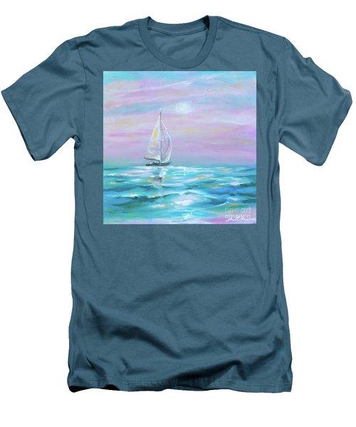 Slight Wind Men's T-Shirt (Athletic Fit)